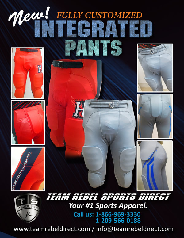 Custom Football Integrated Pants